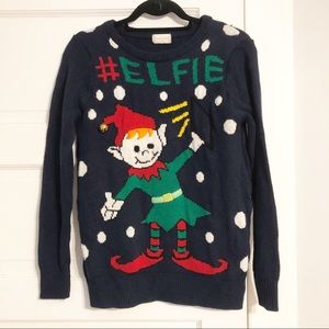 Altar'd State #elfie Ugly Christmas Sweater - S